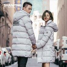 SHANPING/2016 New Long Parkas Female Winter Coat Thickening Cotton Winter Jacket Womens Outwear Parkas for Women lovers Outwear
