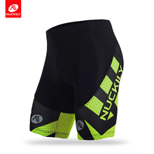 NUCKILY summer multi funtion sublimation biking short with 3D foam pad  for male cyclist MB005