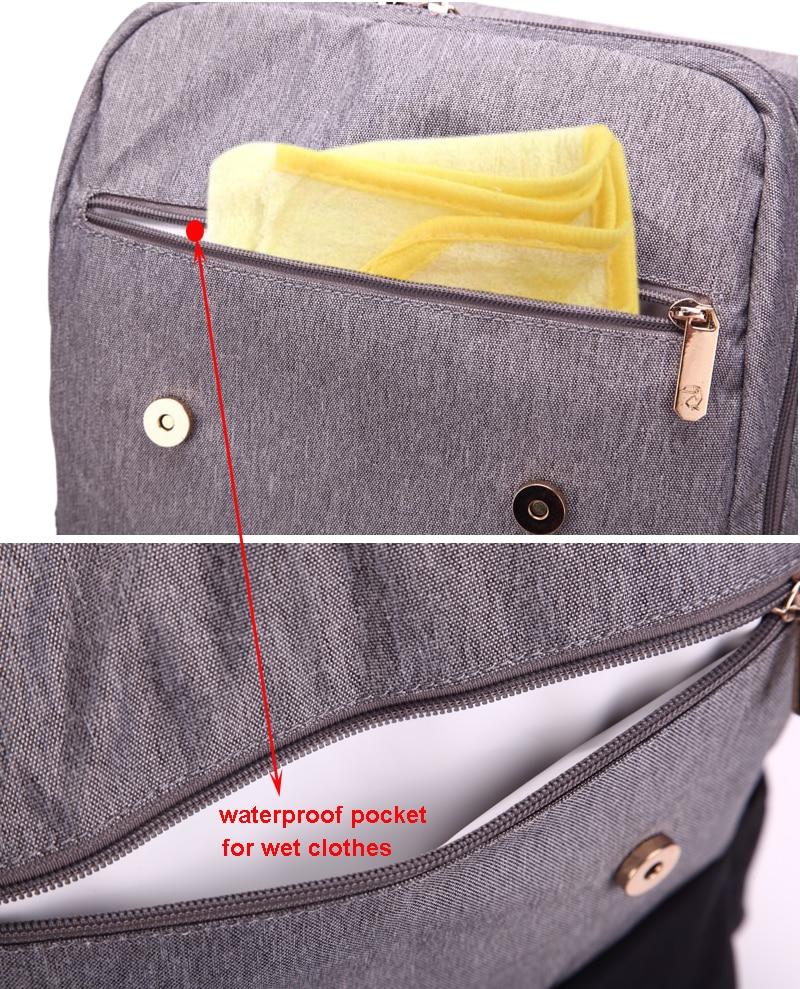 HTB12nAQaInrK1RjSspkq6yuvXXaG Diaper Bag Mummy Daddy Backpack Baby Stroller Bag Waterproof Oxford Handbag Nursing Nappy Kits Maternity Bag USB Warmer Holder