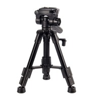 Table Tripod Camera Tripod Portable Flexible With Quick Release Plate With Ball Head Angle Lock Rubber Foot Pad Panning Dial