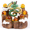 NEW HOT Dragon Ball Z The Dragon Shenron Tree Stump Stand 7 Crystal Balls PVC Figures