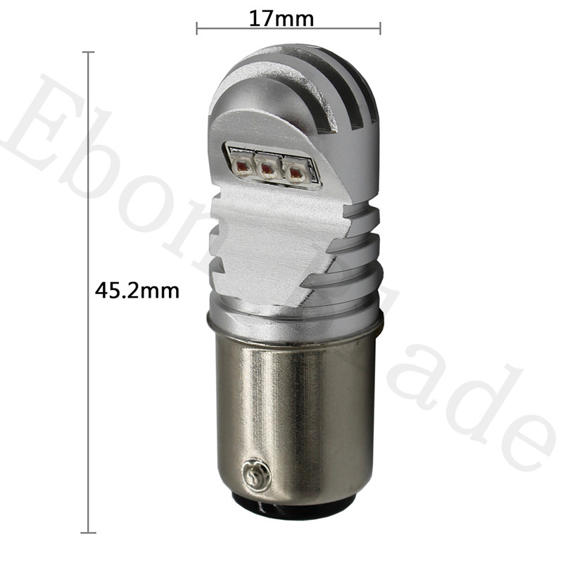 Image 3 - 2Pcs 30W 12V 24V Canbus 1157 BAY15D XBD Chips White Amber Red Car Light Bulb P21/5W LED BULBS CANBUS OBC No Error Signal-in Signal Lamp from Automobiles & Motorcycles