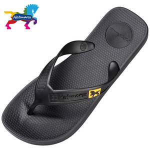 Image 2 - Hotmarzz 男性フリップは、ビーチフラットサンダルデザイナースリッパ夏の靴のファッションスライドゴム下駄 zapatos hombre