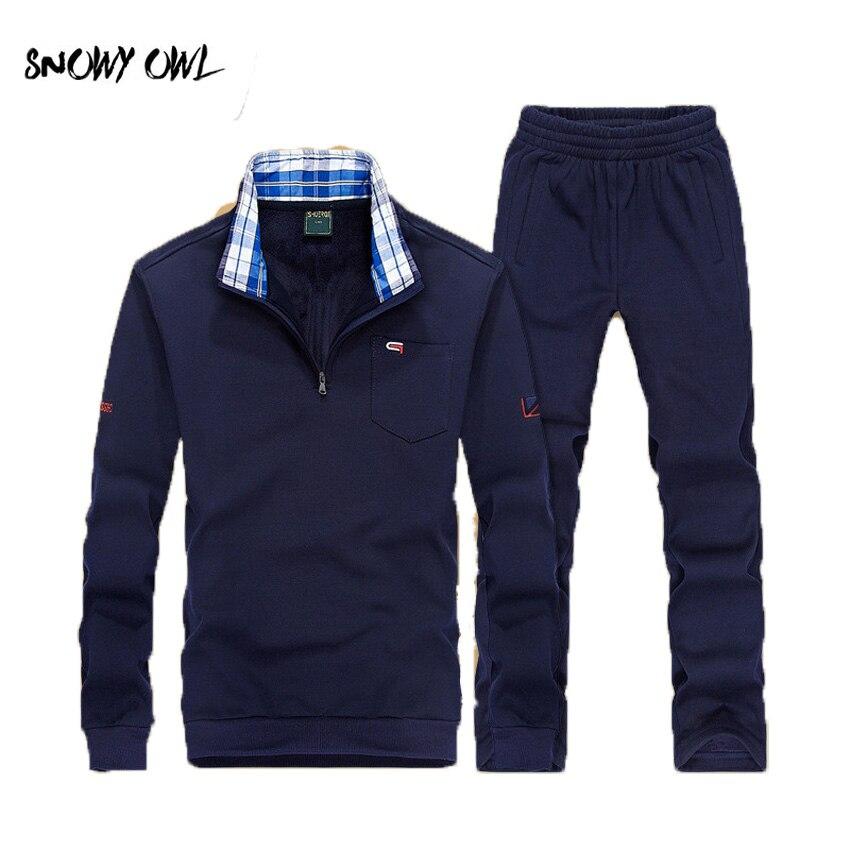 Nouveau haute qualité printemps et automne hommes sport costume outdoorsports porter à manches longues sweat-shirts + pantalon de course costumes L-5XL h80