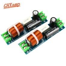 Ghxamp 60 120 w carro midrange crossover alto falante 1 maneira mediante mid divisor de freqüência para 2 6.5 Polegada alto falante filtro 2 pces