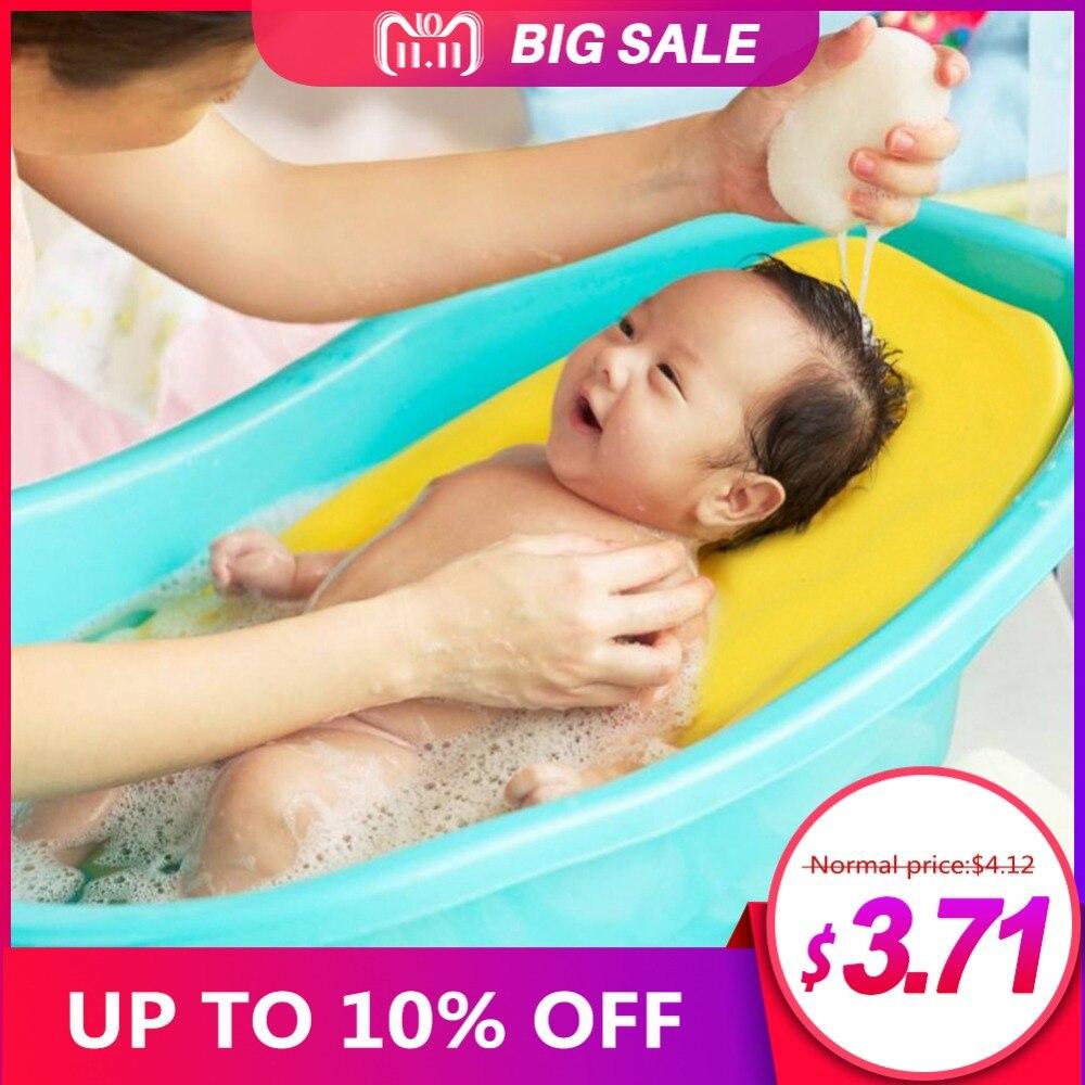 תינוק אנטי להחליק ספוג קצף Pad חיקוי של סביבת הרחם תינוק אמבטיה אמבטיה רחצה כרית תינוק מקלחת תינוק טיפול