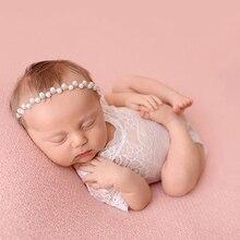 400f725064598 Seeyoo Newborn Pearl Stone Girls Headbands Baby Diamond Shinning Hairband  Infant