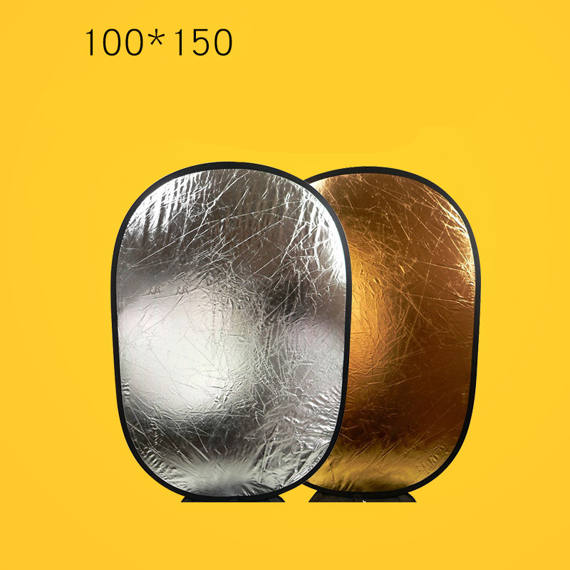 Panneau réflecteur or et argent Double face 100*150 cm or/argent CD50
