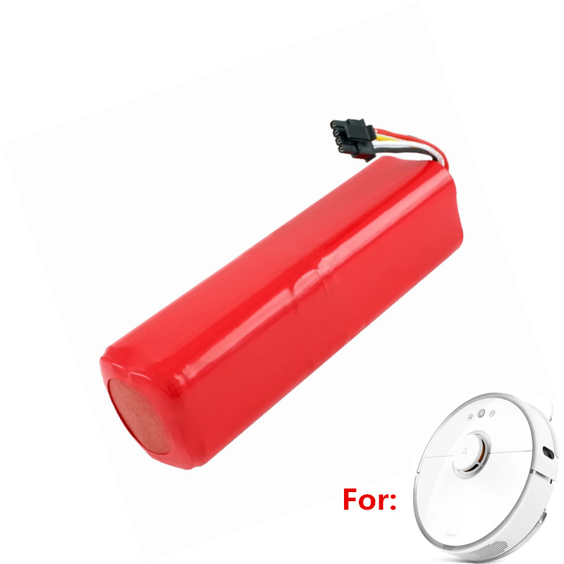 1 piece Robot 14 4V Rechargeable Battery Pack for xiaomi 2 mi roborock s50 s51 Vacuum Cleaner Parts Accessories in Vacuum Cleaner Parts from Home Appliances