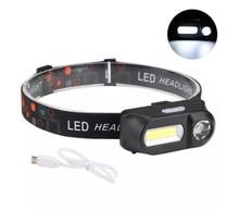 700LM XPE+COB LED HeadLamp USB Interface Waterproof Outdoor Camping Hiking Cycling Fishing Light