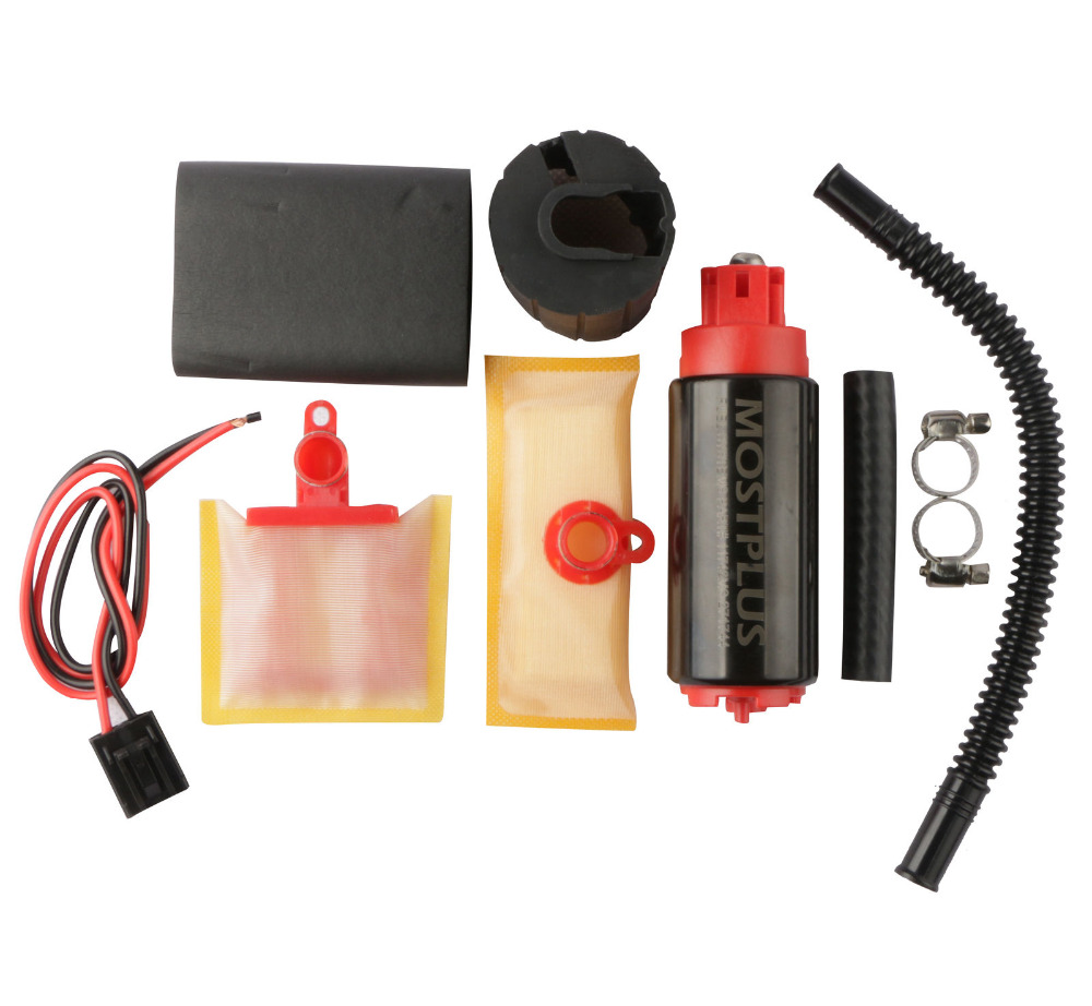 MOSTPLUS New 340LPH High Pressure & High Flow In-Tank Fuel Pump & Install Kit
