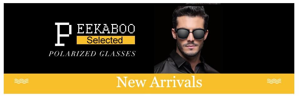Peekaboo Marca novo 2016 steampunk óculos de sol quadrados homens flat top  europeu americano retro óculos de sol do metal do ouro de luxo masculino 3308a1f23f