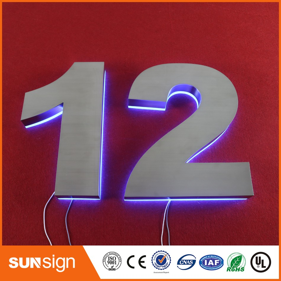 Custom outdoor advertising signage LED light letters 3d sign lettersCustom outdoor advertising signage LED light letters 3d sign letters