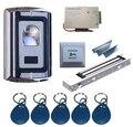 Venta al por mayor Sola Puerta de La Huella Digital y Sistema de Control de Acceso de la Tarjeta RFID Kits