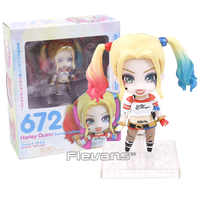 Nendoroid Suicide Squad Harley Quinn 672/Joker 671 PVC Action Figure Da Collezione Model Toy