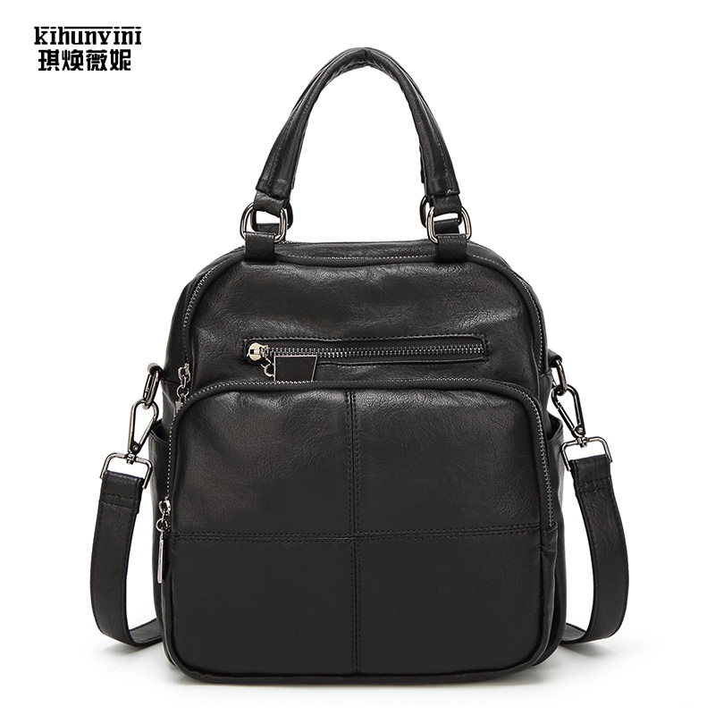 Unisex Handbag Business Briefcase High Quality Casual Male Purse Women Multi-funtion Messenger Shoulder Bag Men Back Pack Small