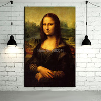 Professional Artist Reproduction High Quality Impression Artwork Most Famous Portrait The Mona Lisa Oil Painting On Canvas