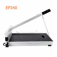 EP340 PVC/WPC sheet floor breaker cutting tools BateRpak vinyl floor manual cutter sheet floor cutting machine
