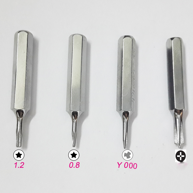 P2 P5 Pentalobe Screwdriver Bits Y000 Tri Wing Y0 6 For Iphone Xs 8 7 11 Macbook Ebay While a phillips screwdriver has slightly tapered flanks, a pointed tip, and rounded corners, a pozidriv screwdriver has parallel flanks, a blunt tip, and additional smaller ribs at 45° to the main slots. details about p2 p5 pentalobe screwdriver bits y000 tri wing y0 6 for iphone xs 8 7 11 macbook