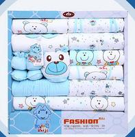 100% cotton newborn clothes summer baby gift box set baby products newborn baby set 18 pcs for 0 12 month baby