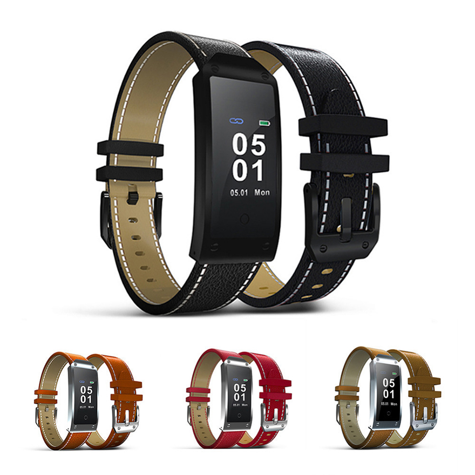Smart Wristband Blood Pressure Watch Waterproof for Android iOS SMS Reminder Bluetooth 4.0 Smart Watch Men