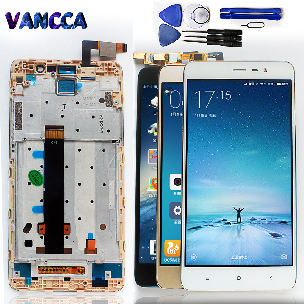 Lcd Display Touch Screen Digitizer For Xiaomi Redmi Note 3 Pro Se Touchscreen 1 Special Edition Global Version 152mm