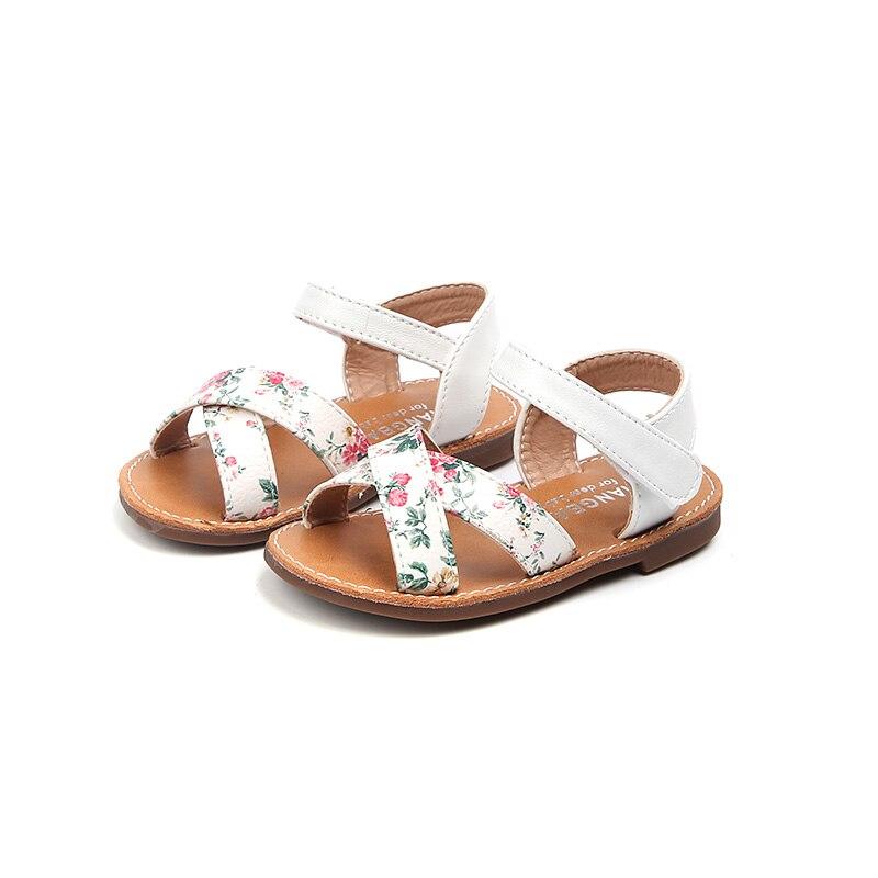 ③Zaizaile 2018 D été En Cuir Pu Chaussures Enfants Fille De Mode ... dc1b2864f336