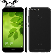 Original Huawei Nova 2 4G LTE 5.0 inch 1920*1080p Mobile Phone Kirin 659 Octa Core Android7.0 4GB 64GB Dual Rear Camera 2950mAh