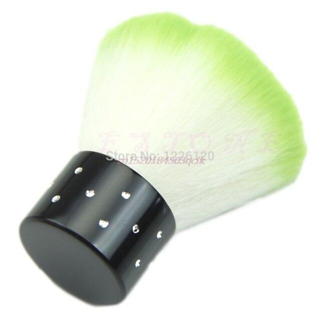 Cepillo de uñas Gel uñas limpiador de polvo herramienta profesional caliente # H056 #