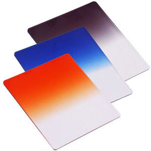 Image 3 - 49 52 55 58 62 67 72 77 82mm Ring adapter + Holder + Filter ND2 ND4 ND8 + Graduated Grey Blue Orange Filter for Cokin P Camera