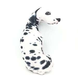 Image 1 - CAMMITEVER 3D White Dog Cushion Throw Pillow With Inner Home Decor Cartoon Sofa Toys Decorative Sleeping Pillow Plush