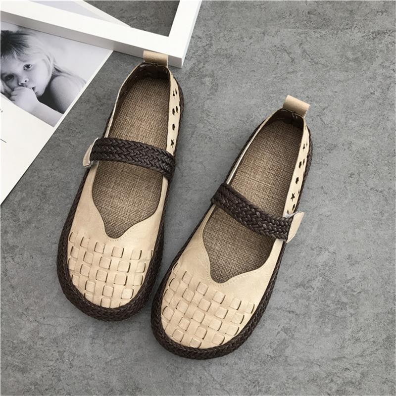 816e2894596 2019 г. женская обувь из натуральной кожи на плоской подошве