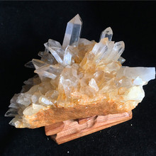 1000g natural clear quartz stones and crystals gemstones healing collection цена