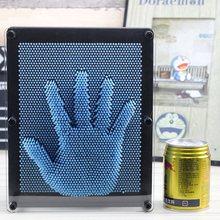 3D Clone Pin Art Hand Shape Model Children Funny Toys Handprint Needle Board Mold Kids Educational Gift