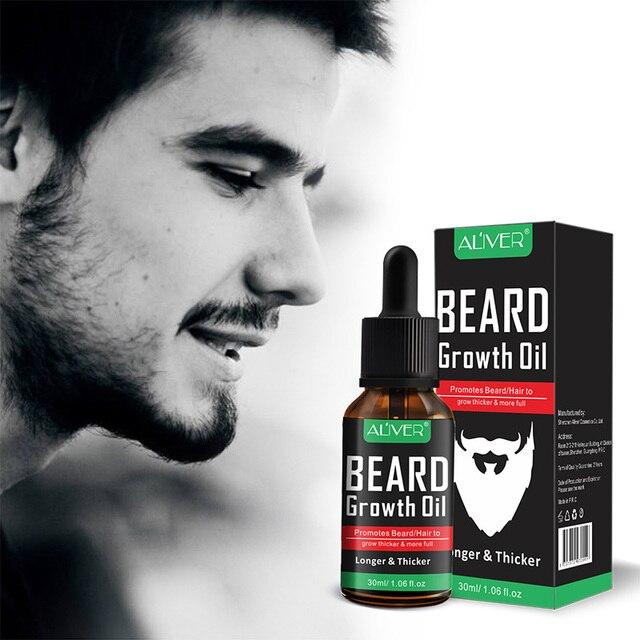 NEW Natural Organic Beard Liquid Beard Growth Conditioner Grooming Moisturizing Moustache Care 3