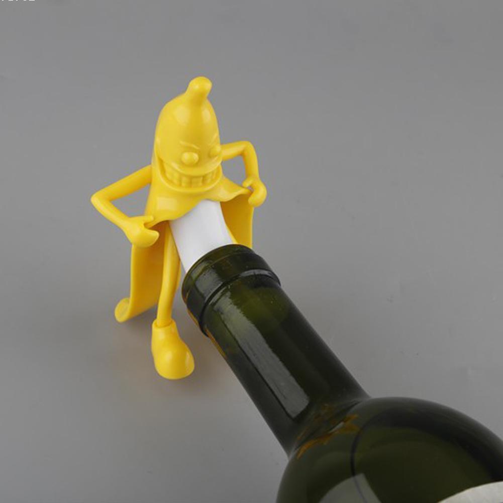 Aliexpress.com : Buy 1pc Banana Wine Stopper Soda Beer Bottle cork ...