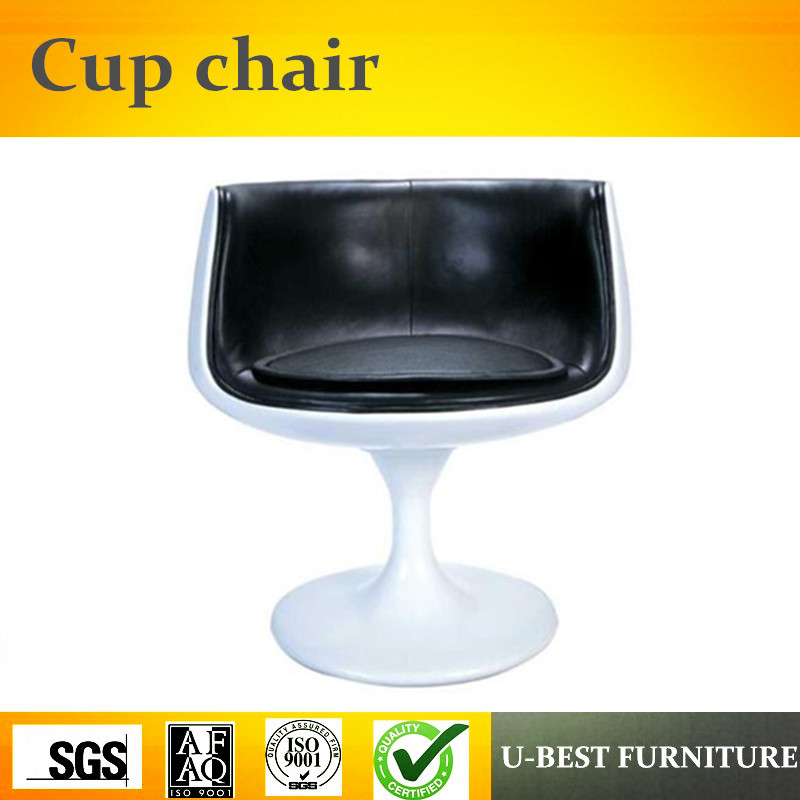 U-BEST Modern Leisure Cup Shaped Cafe Chair,coffee shop arm chair, tea cup chairs milk tea shop eat desk and chair western restaurant coffee tables and chairs cake shop furniture dessert table
