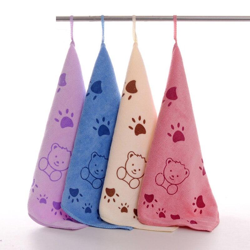 Gran oferta Animal lindo microfibra acogedor suave niños dibujos animados Toalla de mano seca y absorbente hermosa toalla toallas de baño paño