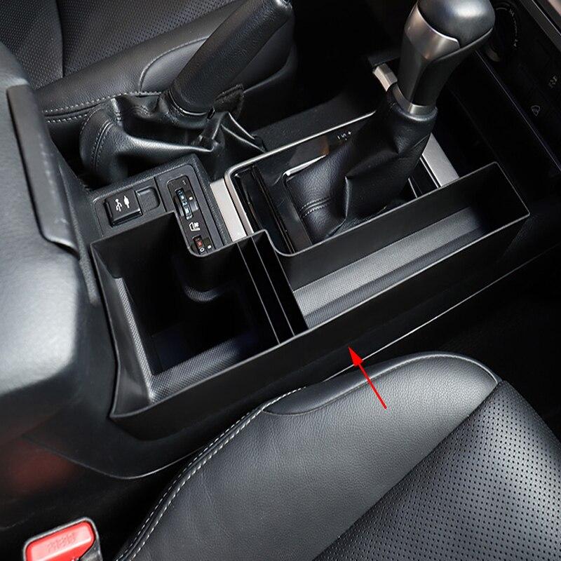 Pour Toyota Land Cruiser Prado FJ150 FJ 150 2010-2018 plastique voiture Console centrale multifonction boîte de rangement téléphone plateau accessoire
