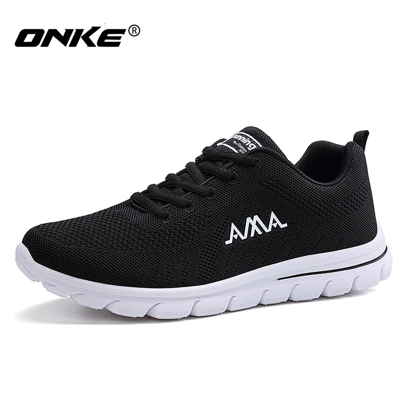 Superlight Running Shoes for Men Comfortable Mens Sport Shoes Lace Up Black Sneakers Walking Zapatillas Running Hombre 831