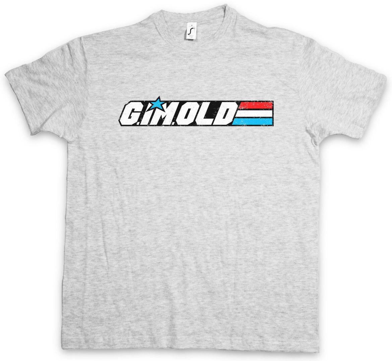 G IM OLD I T-Shirt Gi Movie Fun Joe Grandfather Opa Grandpa Gift Hipster