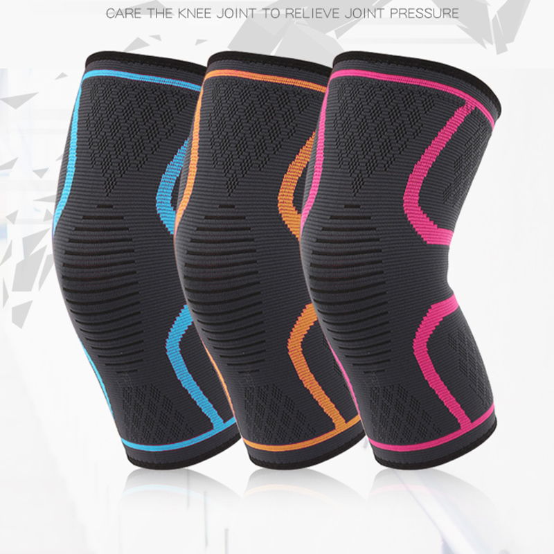 Amalibay High Compression Knee Sleeve Breathable Knee Support Braces Elastic Knee Pad for Running Basketball Jogging Arthritis
