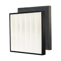 For Samsung Air Purifier AC 505CMAGA Dust Collection Heap Filter Actived Carbon Filter set 340*340mm