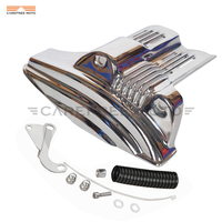 Chrome Motorcycle Accessories Starter Cover Case for Harley Sportster XL 883 1200 Models 2004 2005 2006 2007 2008 2009