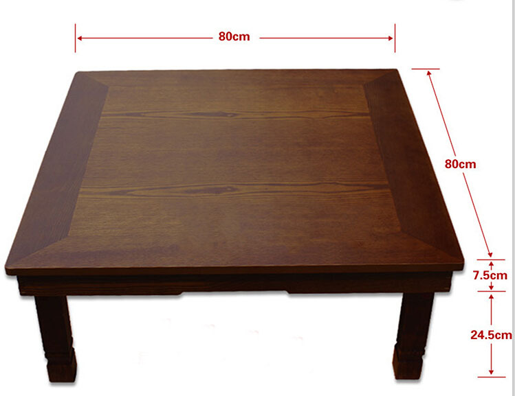 traditional korean furniture. Korean Low Table Folding Legs Square 80*80cm Asian Luxury Antique Home Furniture Floor For Dining Traditional Table-in Coffee Tables From N