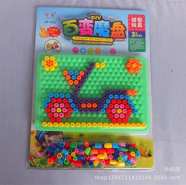 Горячий стиль продажи Мудрость пластины много различных моделей сборки головоломки детские развивающие игрушки