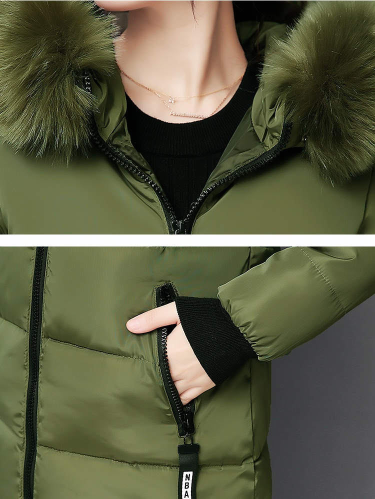 Parka Women Winter Coats Long Cotton Casual Fur Hooded Jackets Women Thick Warm Winter Parkas Female Overcoat Coat 19 MLD1268 20