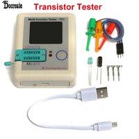 Transistor Tester TFT Diode Triode Capacitance Meter LCR ESR NPN PNP MOSFET LCR TC1 3 5inch