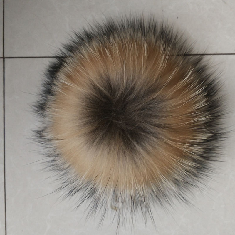6d6772877 12 15cm Natural Animal Hairball Hat Ball Pom Pom Handmade DIY Really ...