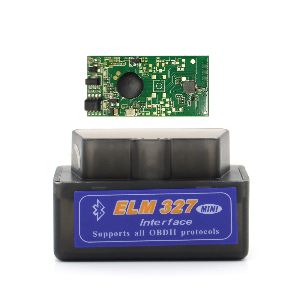 Image 2 - 50pcs/lot 2019 New V2.1 ELM327 Bluetooth Supports Multi Protocols Auto OBD2 Code Reader ELM 327 for Android DHL Free on